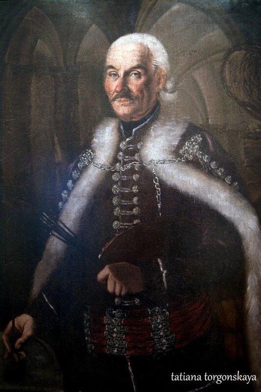Стефан Тенецки, автопортрет