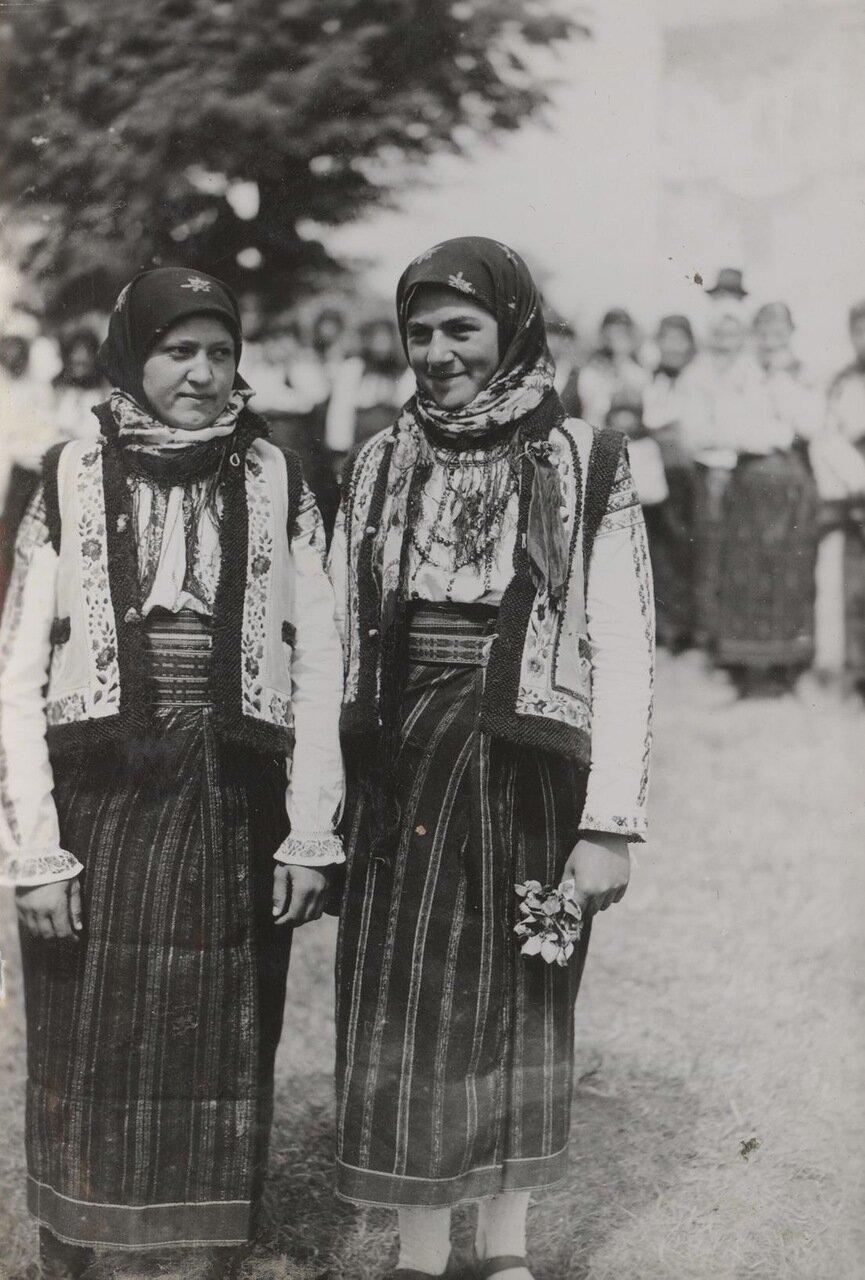 Типы жительниц Буковины
