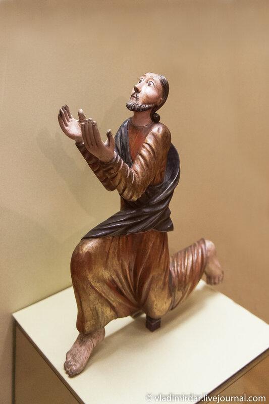Скульптура Христа «Моление о чаше». Село Коса. 1-я половина XIX века.