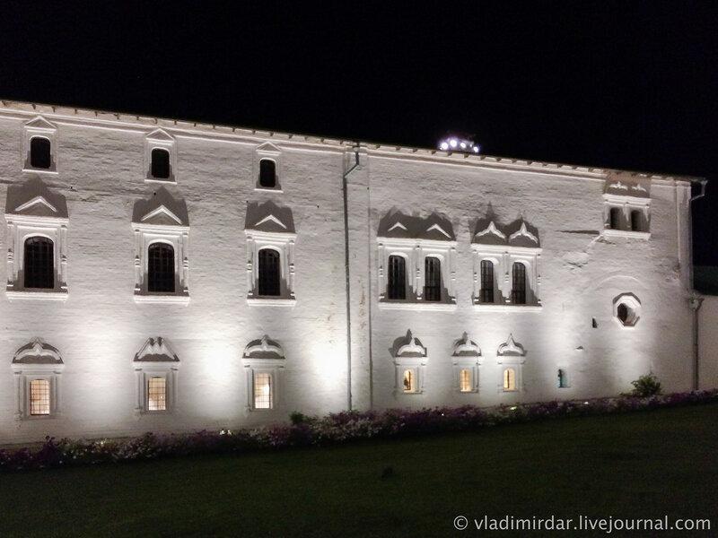 Архирейские палаты. Суздальский кремль.