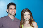 NEW YORK, NY - FEBRUARY 24: Actors Jeremy Jordan and Anna Kendrick attends the