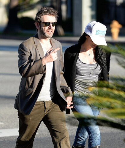 Sarah Silverman, Michael Sheen _ 022314K14_SILVERMAN_NPG_12