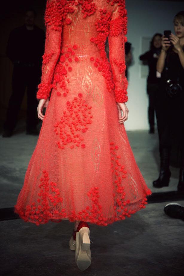 竟有如此靓丽的棒针连衣裙(110) - 柳芯飘雪 - 柳芯飘雪的博客
