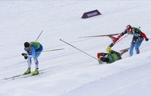 Командный лыжный спринт
