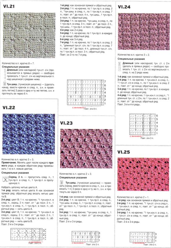 Инструкция по филейному вязанию