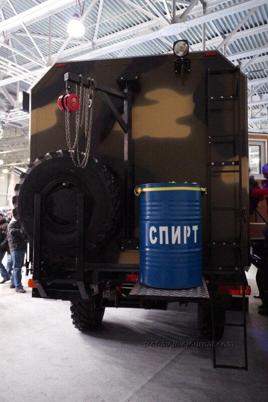 """ГАЗ-3308 Тайга-VIP, выставка """"Вездеходы-2014"""", Москва"""