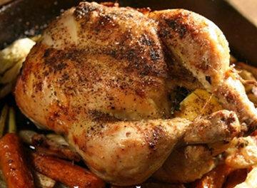 ПОДАЧА курицы для двоих