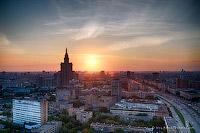 Закат на крыше офиса Mail.Ru
