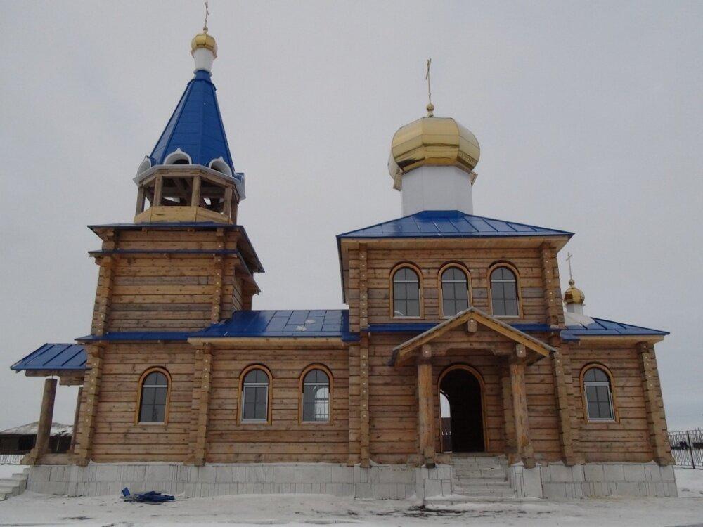 И вот так церковь выглядит теперь (06.03.2014)