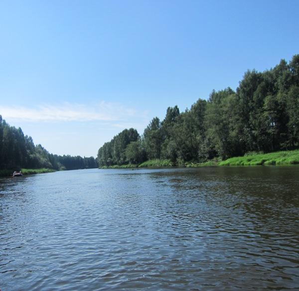Река Чусовая виюне 2015