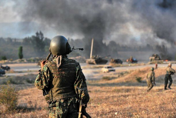 GEORGIA-RUSSIA-CONFLICT-FIRE