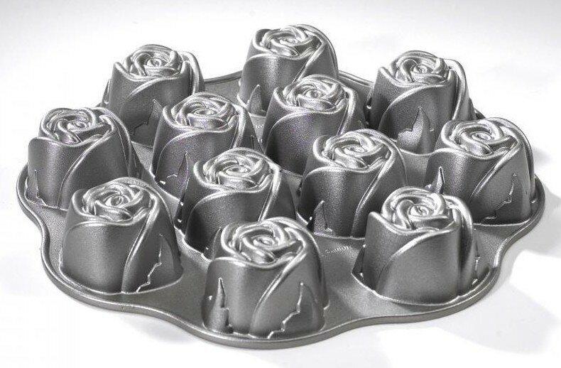 форма для кекса розочки