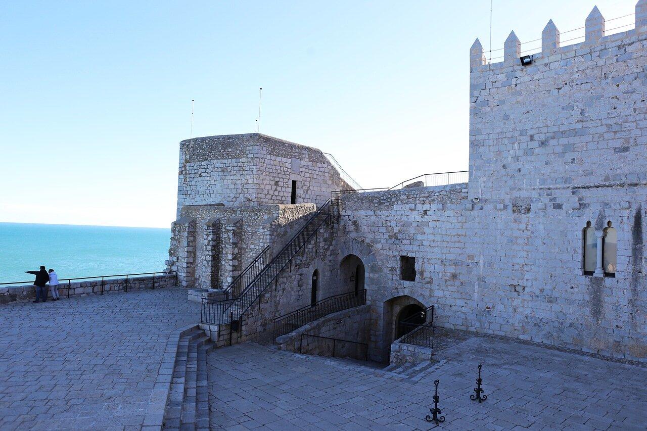 Пеньискола, Замок Папы Луны. Peniscola, Castell del Papa Luna