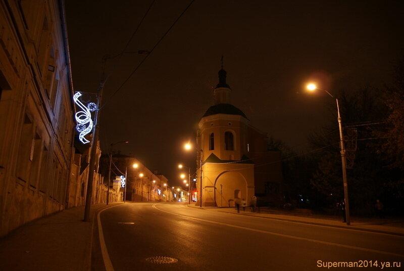 ночной Смоленск - Троицкий монастырь