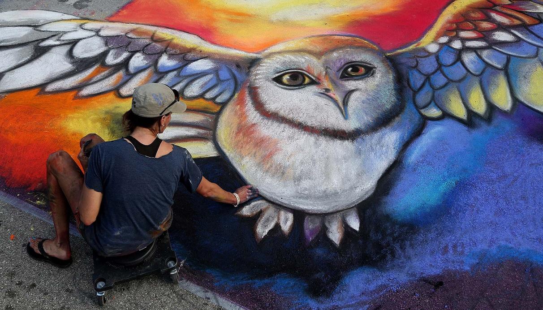 20-й Ежегодный Лейк-Уортский фестиваль уличного искусства