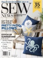 Журнал Sew News - June/July 2015