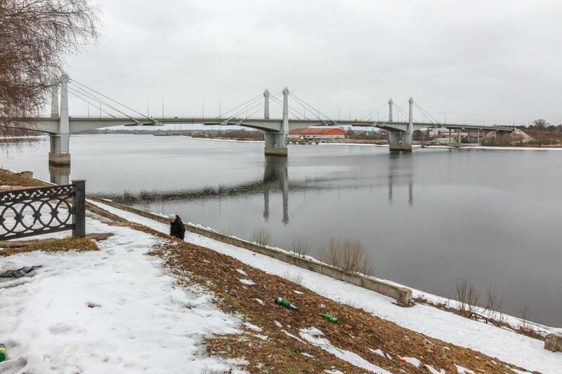 Кимрский автомобильный мост через р.Волгу, Кимры