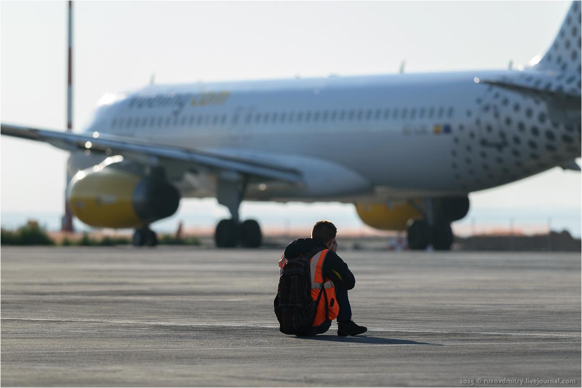 Споттинг в международном аэропорту Курумоч