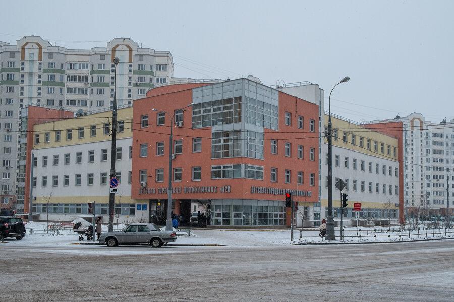 Детская поликлиника Кожухово