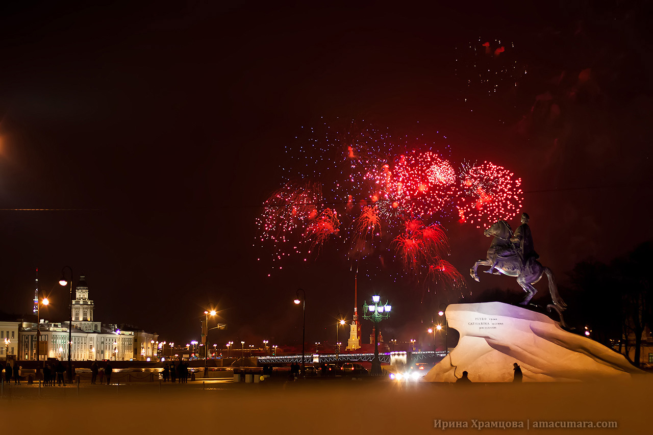 Салют в Санкт-Петербурге