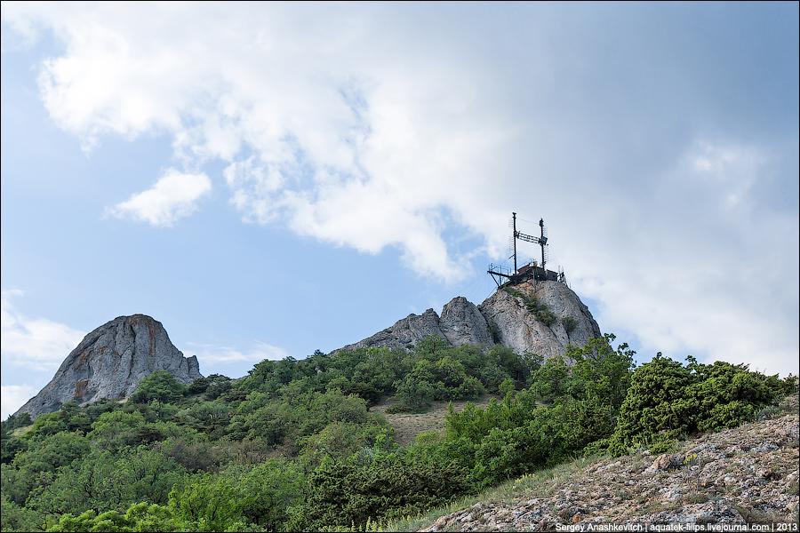 Лунная станция в Крыму
