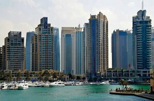Голубой Дубай