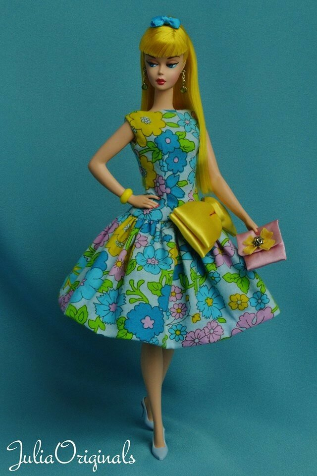 Великолепный ООАК винтажных кукол Барби