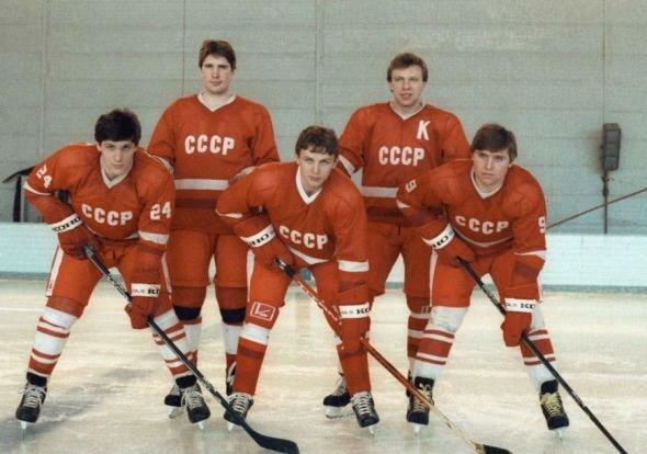 Игроки сборной СССР по хоккею