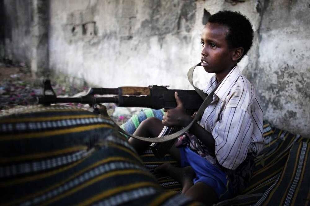 Дети солдаты - Сомали (5)