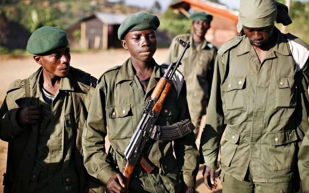 Дети солдаты - Конго (2)