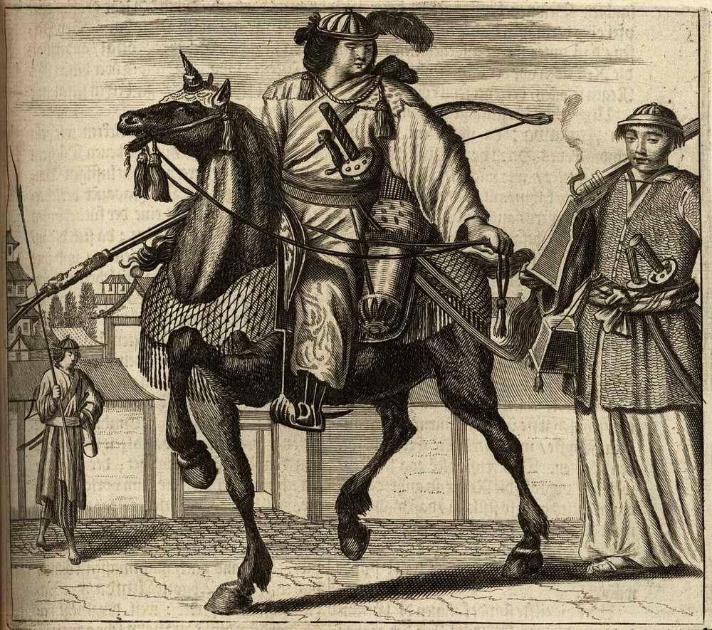 Япония глазами европейцев на гравюрах - 1670 год (1)