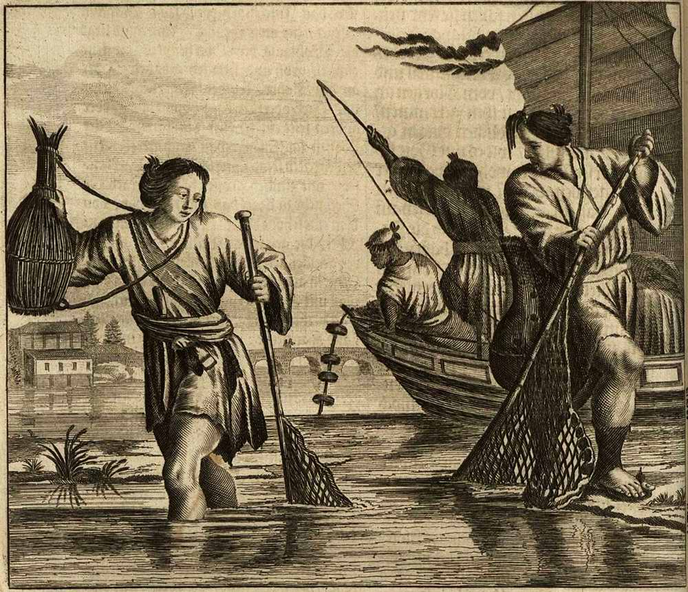 Япония глазами европейцев на гравюрах - 1670 год (9)