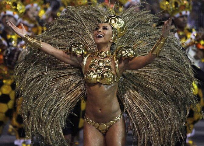 карнавал в рио 2014