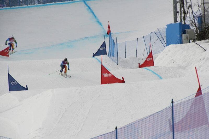 Ски-кросс, тренировка