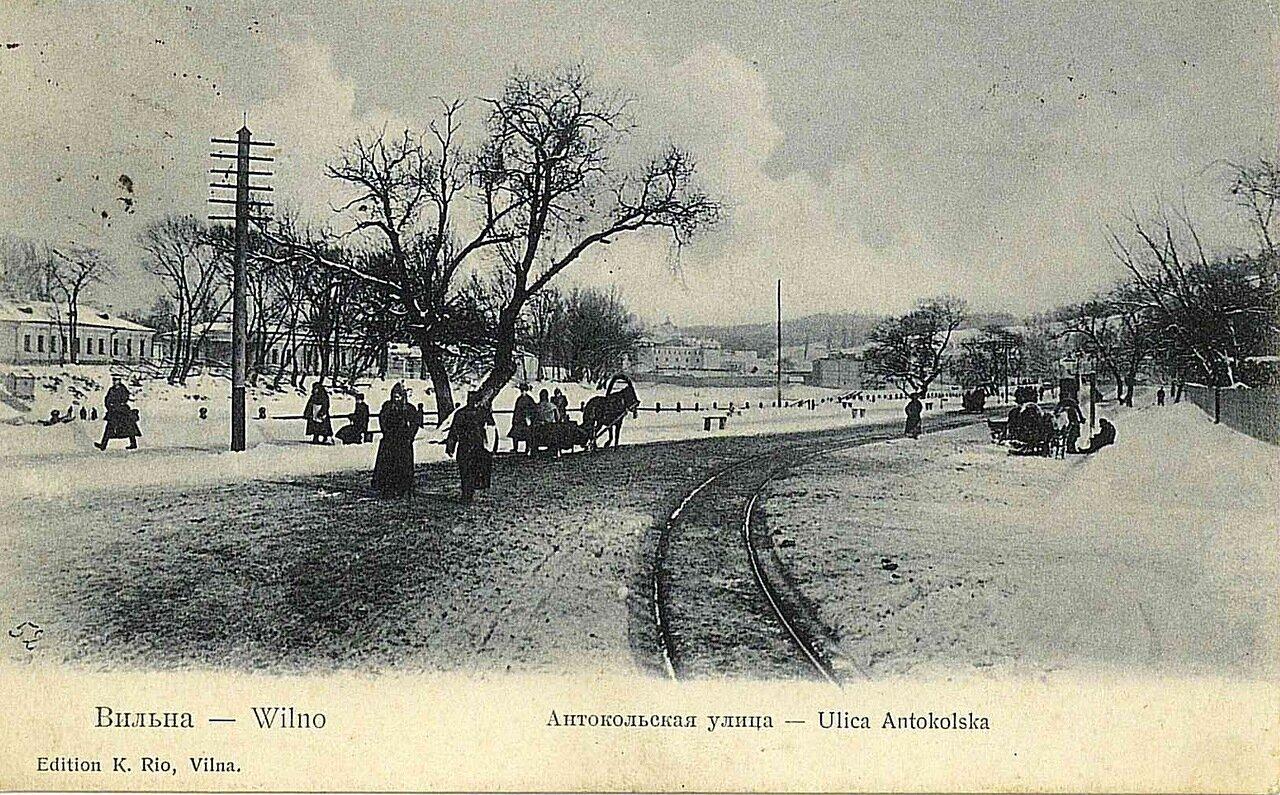 Антокольская улица