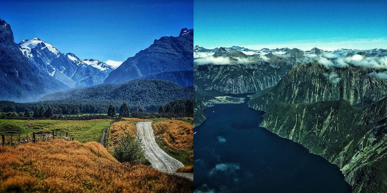 Новая Зеландия из инстаграмма