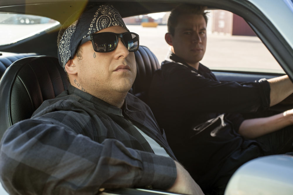 """Jonah Hill, left, and Channing Tatum in Columbia Pictures' """"22 Jump Street."""""""