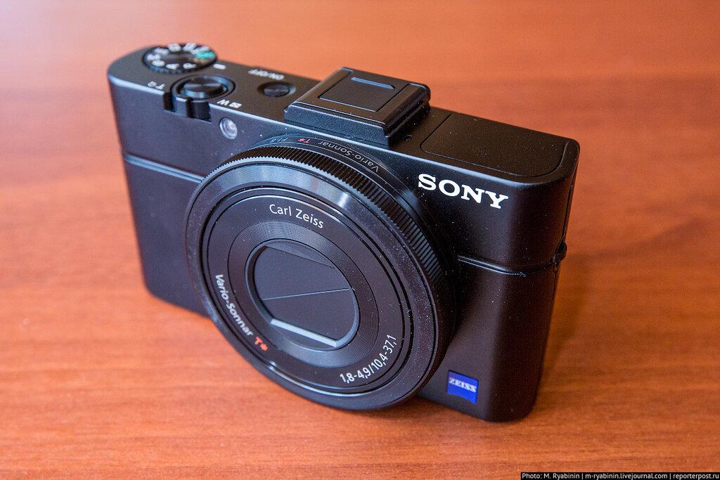 Test SONY RX100 on ReporterPost.ru