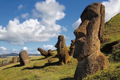 Моаи острова Рапа-Нуи