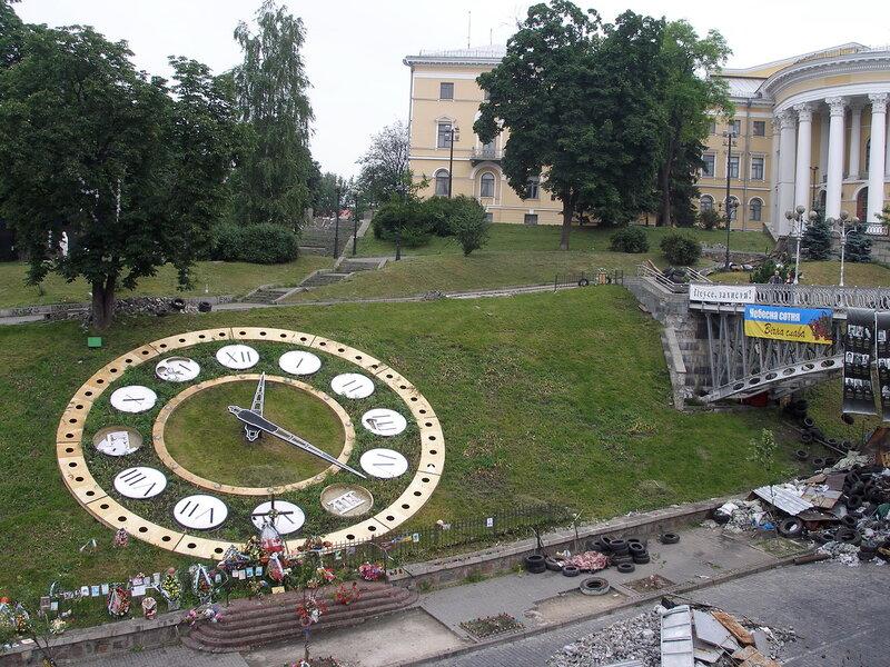 остановилось время на Майдане