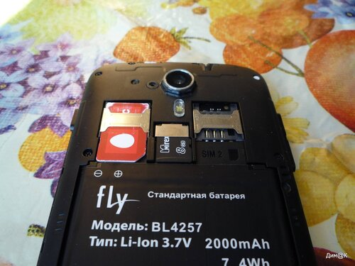 Fly IQ451 Vista (слоты)