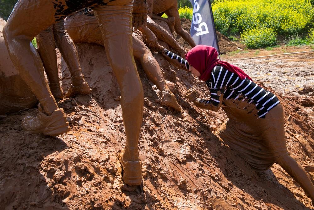 Гонки по грязи в Тель-Авиве