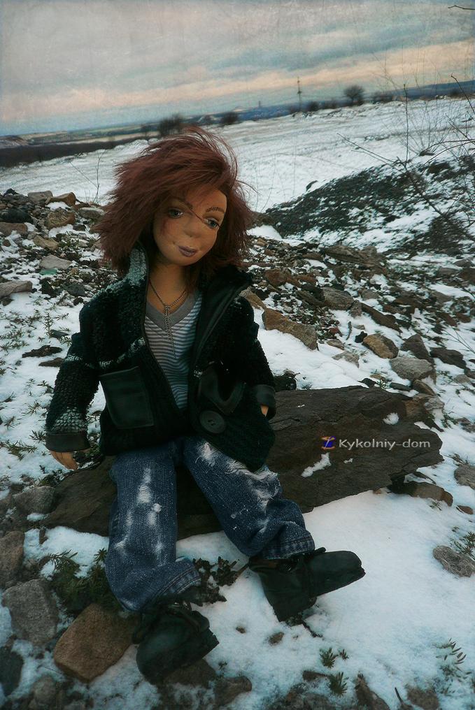 Портретная кукла по фото.