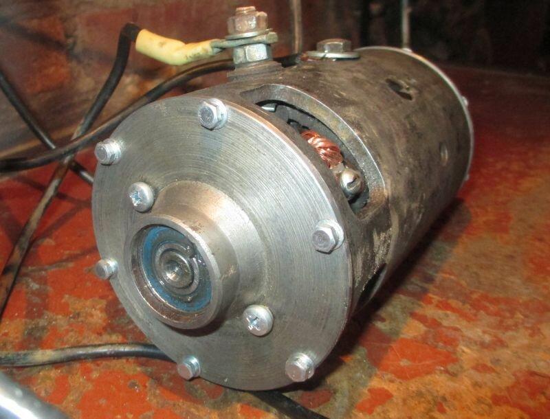 двигатель из стартера - Металлический форум - Страница 5