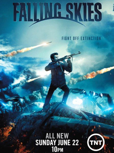 ��������� ������ / Falling Skies (4 �����/2014/WEB-DLRip)
