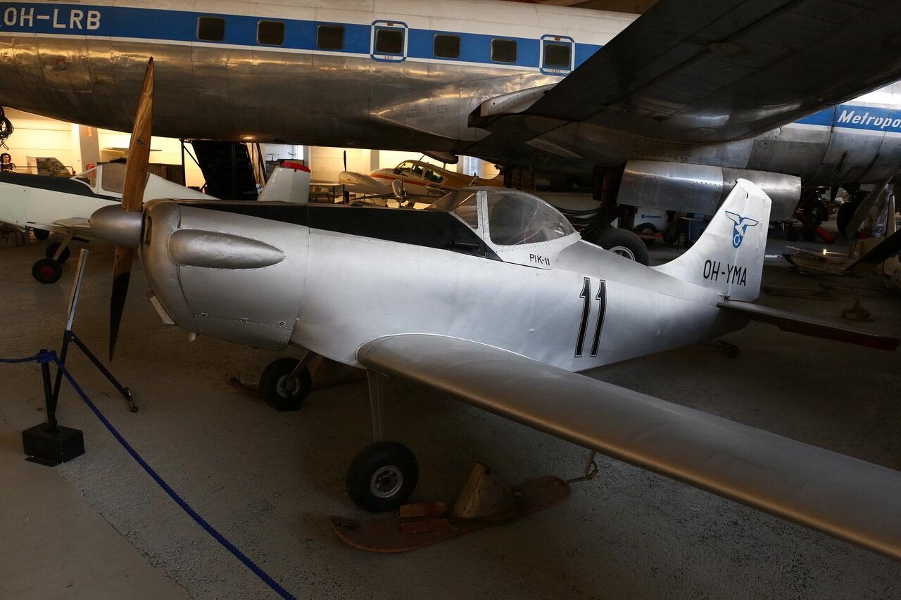 Авиамузей Хельсинки-Вантаа. Сверхлёгкий самолёт PIK-11 Tumppu