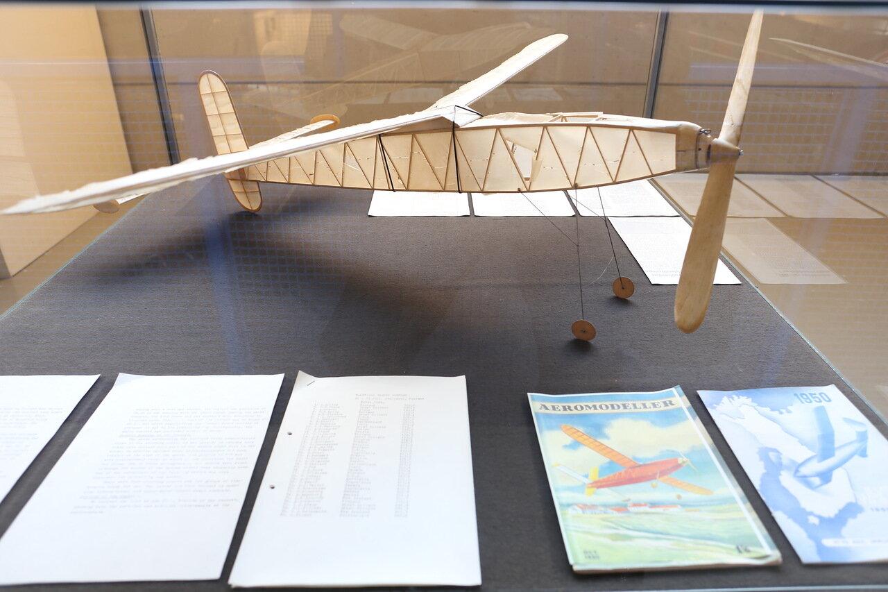 Helsinki-Vantaa Air Museum. Aircraft modeling