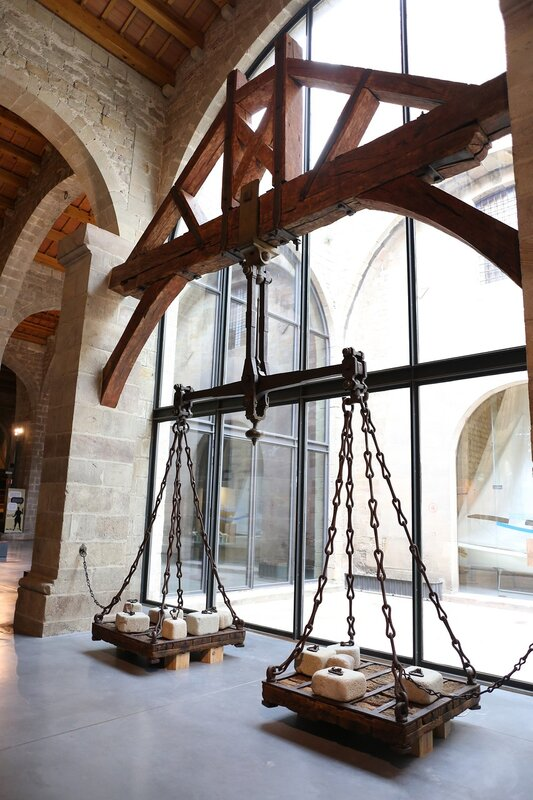 Maritime Museum of Barcelona. Port Libra