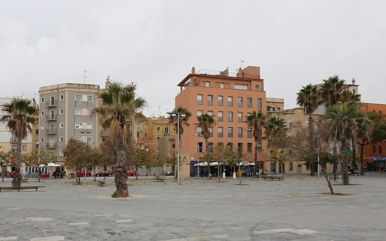 Barcelona. The embankment of Barceloneta.
