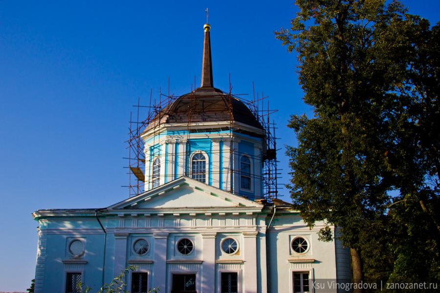 Благовещенская церковь. Усадьба Поливанова.